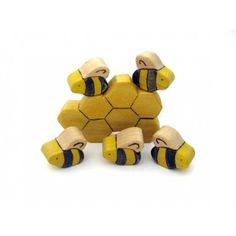 Bees & Honeycomb Toys $15