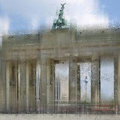 "FINE ART AMERICA ""City-Art BERLIN Brandenburg Gate"". Weitere Shops: http://melanieviola-fotodesign.de/shops-kunst-kaufen.html"