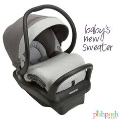S-A-L-E! If you're a fashionista new mom looking for a simple, trendy and elegant infant car seat, then the Mico Max 30 Soft Grey Sweater Knit has your name on it. It is fully washable and easily adjustable. Plus, it's one of the lightest infant car seats in its class. And hurry - if you order now, you'll get an additional 20% off! Ends today.   http://www.pishposhbaby.com/maxi-cosi-mico-max-special-edition-infant-car-seat-soft-grey-sweater.html
