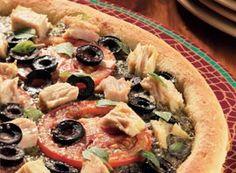 Niçoise Tuna Pizza   Clover Leaf