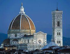 Santa Maria dei Fiore AKA el Duomo in Florence Florence Sightseeing, Florence Tours, Florence Hotels, Santa Maria, Filippo Brunelleschi, Firenze Italy, Travel Sights, Walkabout, Chapelle