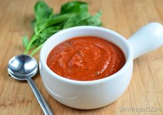 Slimming Eats Homemade Pizza Sauce - gluten free, dairy free, vegetarian, Slimming World (SP) and Weight Watchers friendly