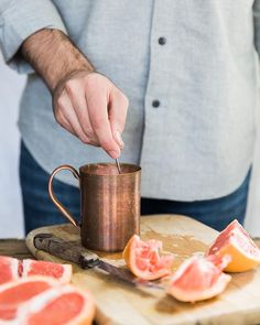 A 'Soul Mule' cocktail recipe from Project Sip (© Kathryn McCrary Photography)