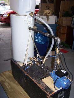 Make your own biodiesel processor - step by step Instructable with photos
