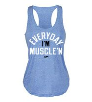 Everyday I'm Muscle'n Women's Tank Top