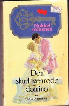 """""""Den skarlagenrøde domino - Nøkkelromanen 9"""" av Sylvia Thorpe"""