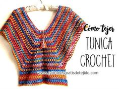 ergahandmade: Crochet Tunic + Diagrams + Pattern + Video Tutoria...