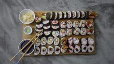 [Homemade] Sushi Platter! http://ift.tt/2fsKl8w