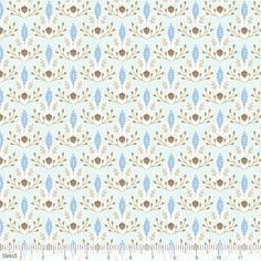 Ana Davis for Blend, Born Wild, Little Acorn Blue, Fabricworm brings you the best in modern fabric! Motif Design, Fabric Design, Little Acorns, Modern Fabric, Cool Fabric, Textile Prints, Pattern Wallpaper, Fabric Patterns, Baby Quilts