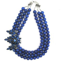 Blue Through and Through necklace by Elva Fields #elvafields