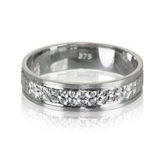 Lesley Real Sterling Silver With Platinum Finish DiamonFlashsup