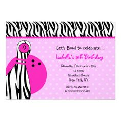 53 best bowling invitation ideas images on pinterest invitation