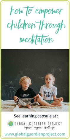 How to Empower Children Through Meditation.  Meditation is an important tool that children can carry with them throughout their entire lives, for it really improves their state of well being.