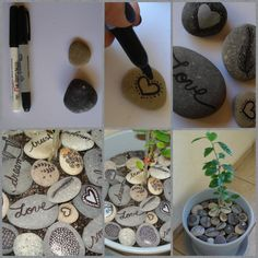 DIY Stone Decor
