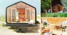 Una compañía holandesa supo ver en los materiales que para algunos son solo un desecho, una posibilidad de construir hogares eco-amigables.
