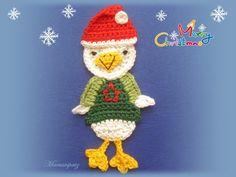 """Weihnachtsgans """"Auguste"""" von Maeusespatz auf DaWanda.com"""