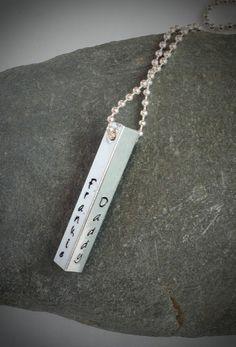 UK based seller. Men's personalised chain. £13
