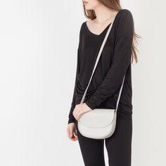 Modern Citizen | Modern Citizen  |  Marais Leather Crossbody Bag (Grey) - 1 $138