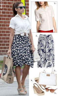 Such a cute outfit with skirt! Trying to move towards more skirts & dresses for spring/summer...