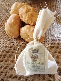 Potato Soap  African Black Soap  Vegan by Sugarmaplesoapstudio