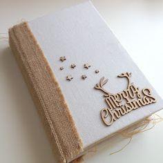 El mundo hecho a mano: Diario de Navidad 2015 Minis, Mini Albums Scrap, December Daily, Place Card Holders, Tableware, Christmas, Crafts, Cnc, Scrapbooking