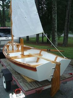 Boat Dock Plans And Designs 2799477377 Free Boat Plans, Wood Boat Plans, Wooden Boat Building, Boat Building Plans, Plywood Boat, Wood Boats, Kayaks, Simple Boat, Flat Bottom Boats