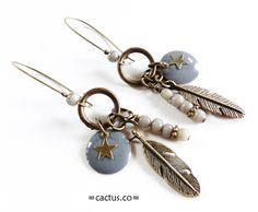 Boucles d'oreilles Indian Spirit A Little mercerie