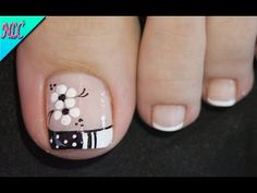 Pedicure Designs, Pedicure Nail Art, Toe Nail Designs, Nail Polish Designs, Toe Nail Art, Cute Toe Nails, Pretty Nails, Hello Nails, Purple Nail Designs