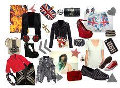 """A Pretty Rock'n Style"" by keziasoteria on Polyvore"