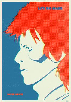 retro poster for sale David Bowie