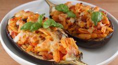 Melanzane Ripiene di Pasta #ricetta di @pasticcialice