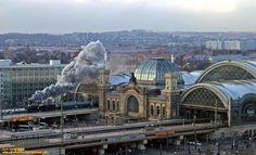 2007 , Dresden Hbf , Adventssonderzug nach Altenberg