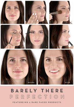 glo How-To: Barely There Perfection