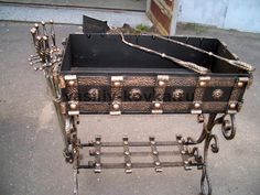 Фото, кованые мангалы