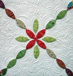 I want to learn to do this one day, the quilting is extrodinary