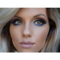 Blue Makeup Done Right <3  #bluemakeup #makeup