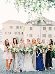 Romantic Zurich Wedding Part I Gallery - Style Me Pretty