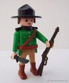 PLAYMOBIL GUARDIA FORESTAL, POLICIA, SOLDADO (Juguetes - Figuras de Acción - Playmobil)