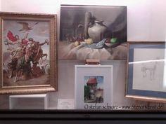 Stenorkunst   Ausstellung in München – Residenzstrasse 13 – gegenüber vom Nationaltheater - #München #Ausstellung - gegenüber vom #Nationaltheater - Werk von Stenor - ein #Aquarell