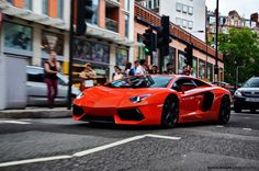 Oakley Lamborghini Aventador LP700-4 - London 2012