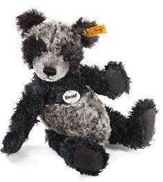 Ours Teddy Steiff Rico noir chiné Steiff-Peluche.fr - La Boutique des peluches STEIFF en France #teddy #nounours #doudou