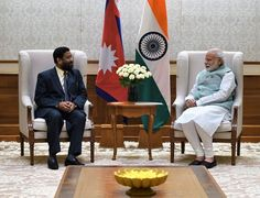 Bimalendra Nidhi Deputy Prime Minister and Minister of Home Affairs of Nepal calls on PM Narendra Modi