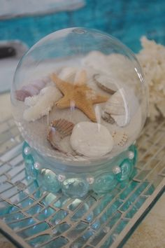 Summer Beach Sand Globe Vacation Memory by ByTheSeashoreDecor in honor of our family trip to Myrtle Beach Dec. 2014