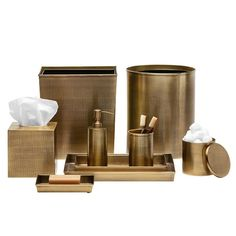 Remy Stainless Steel Bathroom Accessories (Antique Brass) Information…
