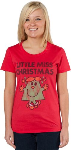 I've wanted this t shirt for about 5 years now...Little Miss Christmas T-Shirt By Junk Food