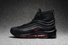 arrives 77e1d da258 Riccardo Tisci X Nike Lab Air Max 97 Mid Black Red Cheapest Shoe