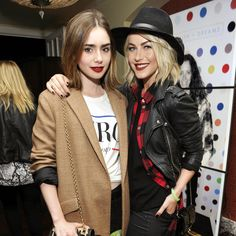Julianne and Lily Share Red Lipstick, Making Us Green With Envy