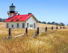 Point Cabrillo lighthouse, Mendocino County, CA
