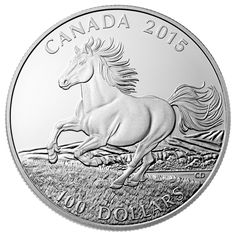Are there enough of these to go round? $100 silver coins from the Canadian Mint ... http://horsetalk.co.nz/2015/02/13/galloping-horse-100-silver-coin/
