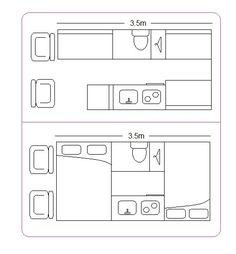 Convert Your Van Ltd - Camper Van Interior Layout Guide (potential layouts)